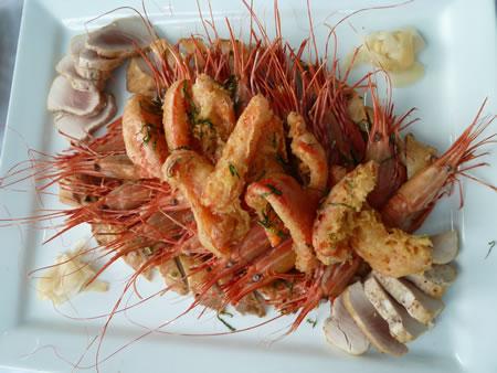 Rockwater seafood platter