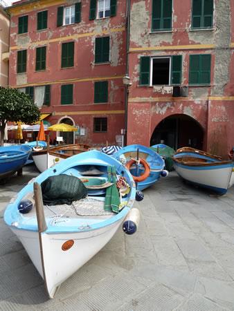 Boats in Vernazza, Cinque Terre