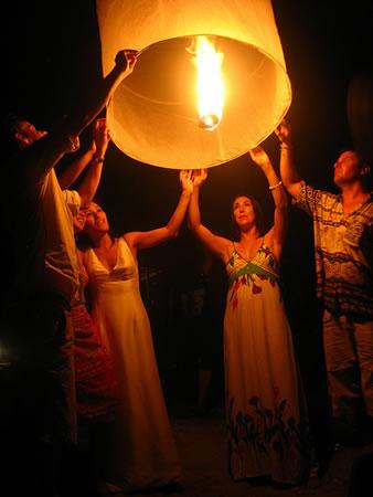 Loy Krathong lantern