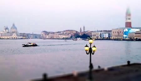Venice lagoon from Al Tramonto Dorato