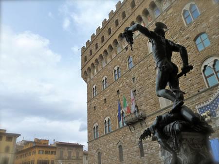 Florence Italy Palazzo Vecchio exterior