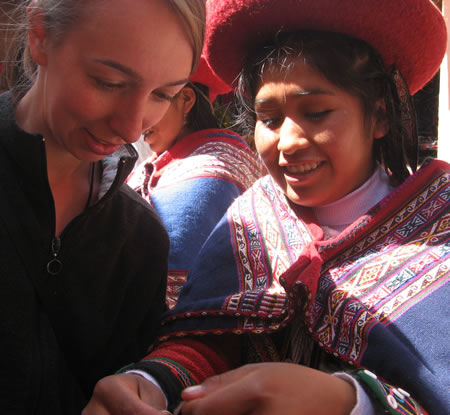 Cultural immersion in Peru