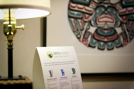 Listel Hotel Vancouver zero_waste