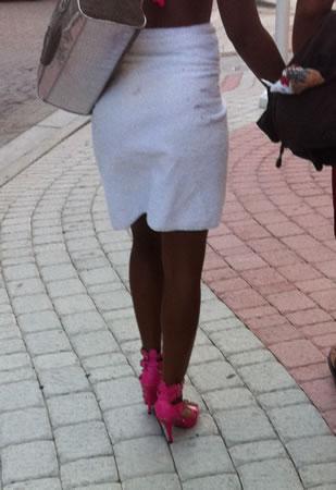 Stilettos on South Beach