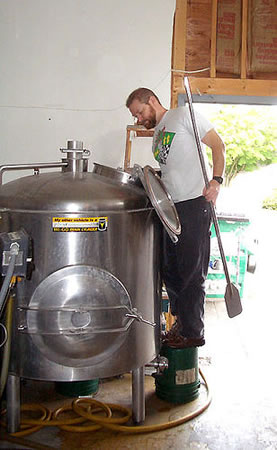 Brewing at Tangletown Elysian