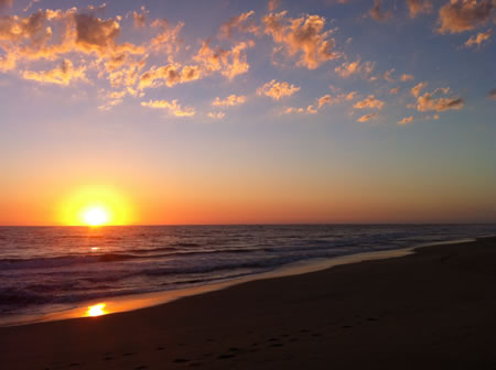 Baja Mexico Sunset