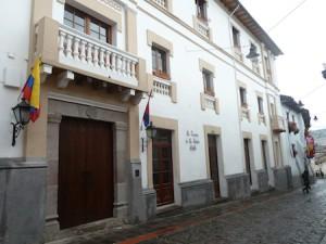Casona de la Ronda Quito entrance