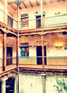 Casona de la Ronda interior courtyard
