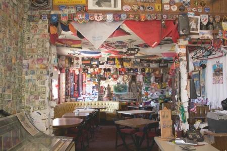 Bagdad Cafe inside