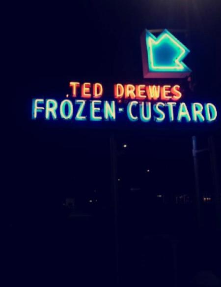 Ted Drewes ice cream