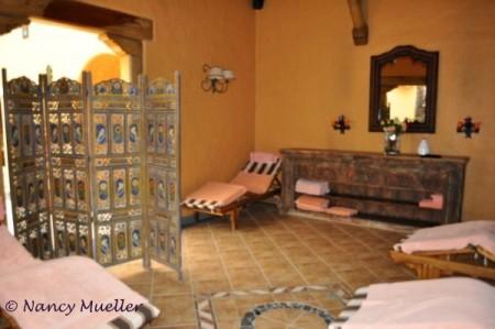 Inside Spa at Termas Papallacta