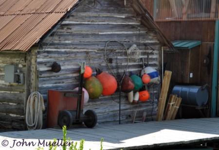 Buoys in Tenakee Springs