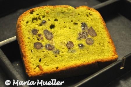 Green Tea & Azuki Red Bean Pound Cake