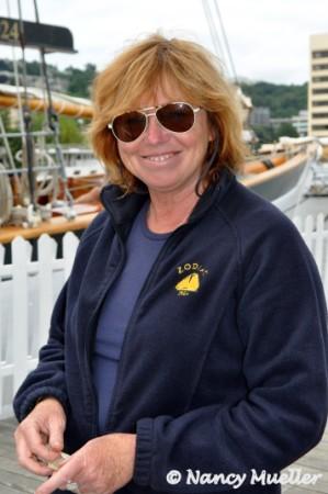 Port Captain Chris Wallace Schooner Zodiac