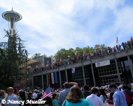 Seattle Center 4th of July 2014