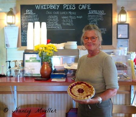 Jan Gunn Whidbey Pies Cafe
