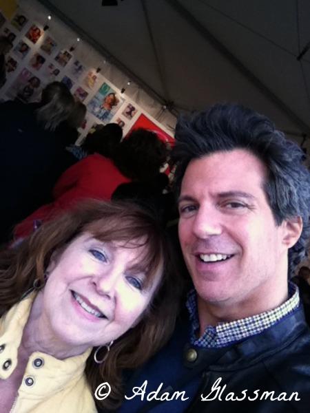 Nancy Mueller and Adam Glassman