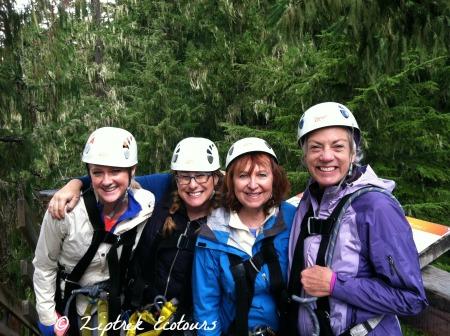 Ziptrek Ecotours Adventurers