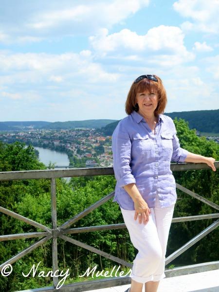 Solo Travel Nancy Mueller The Danube, Kelheim