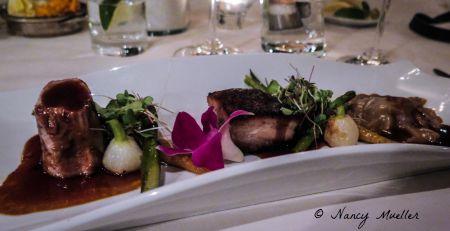 Dining at Fairmont Le Manoir Richelieu