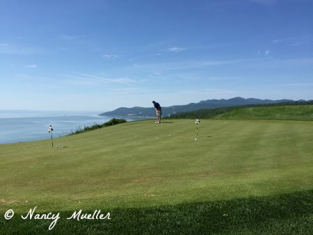 Playing Golf at Fairmont Le Manoir Richelieu