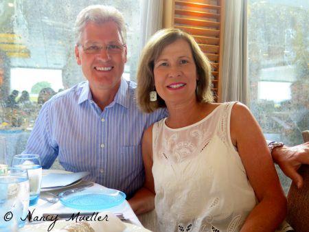 Larry & Gail on Viking River Cruises