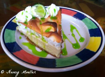 Key Lime Pie from El Meson de Pepe