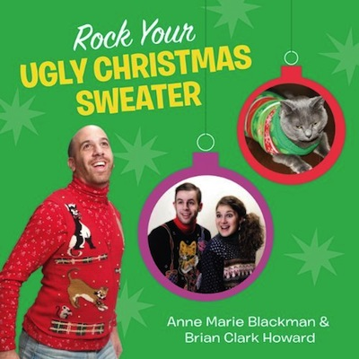 If you're hunting for a holiday-themed ironic coffee table book for someone special, Rock Your Ugly Christmas Sweater has you covered