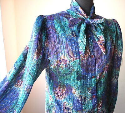 80s-vintage-blouse-with-bow