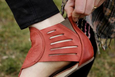 Aurora Sandal elastic