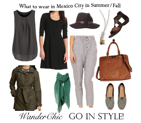 What to Wear in Mexico City in August/September