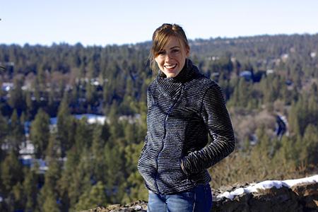 Mountain Khakis wanderluster fleece smiling