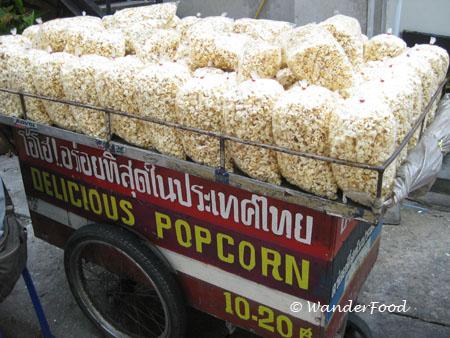 Popcorn Vendor Bangkok