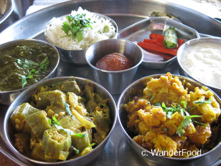 Thali Plate - Punjab Sweets