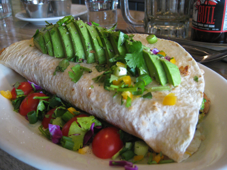 Columbian Cafe Burrito