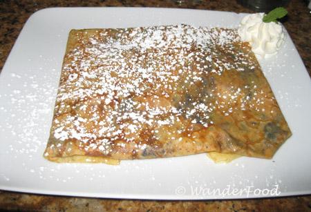 Crepe Dessert La Cote Creperie
