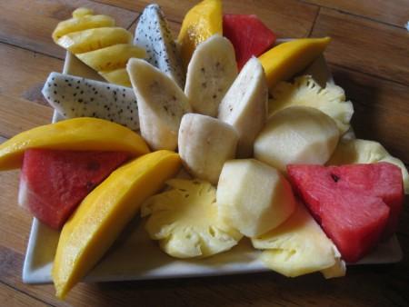 Hanoi Fruit Salad Tamarind Cafe