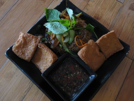 Hanoi Tofu at Tamarind Cafe