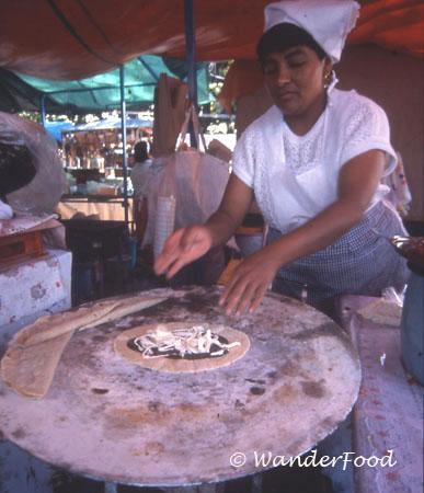 Mexican Tortillas Oaxaca