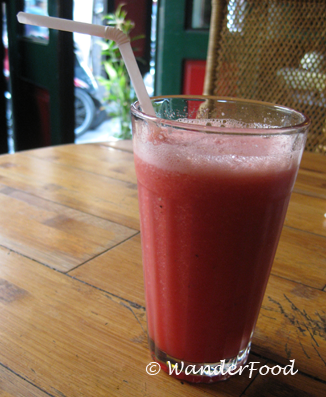 WanderFood Wednesday: Watermelon Juice as Big as Your Head