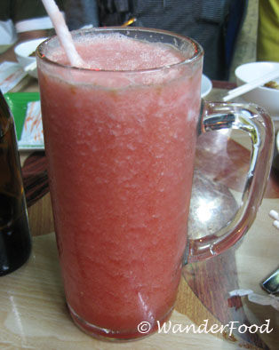 Watermelon Juice at Kim Cafe