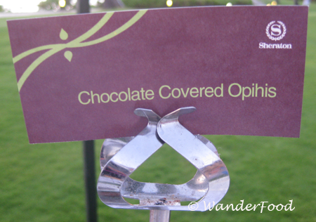 chocolate covered Opihi Sign