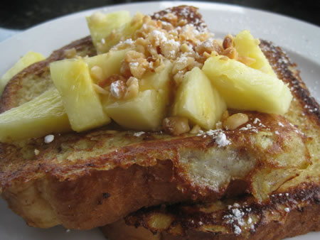 Kalaheo Coffee French Toast Breakfast