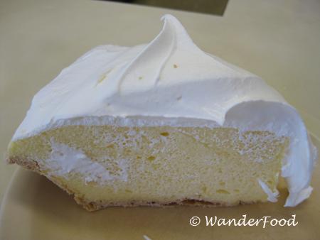 Lilikoi Pie from Hamura's Saimin