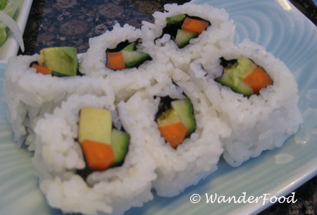Sushi Rolls Sheraton Kauai