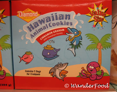 Hawaiian Animal Cookies
