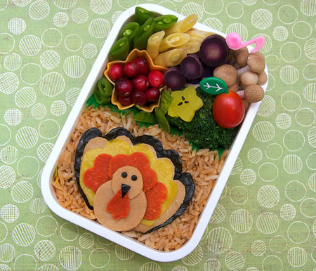 Tofurkey Bento Box