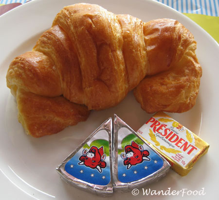 Croissant and Laughing Cow Cheese Vietnam