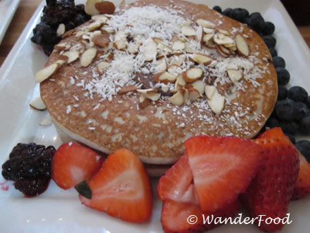 Vegan Banana Pancakes from Portage Bay