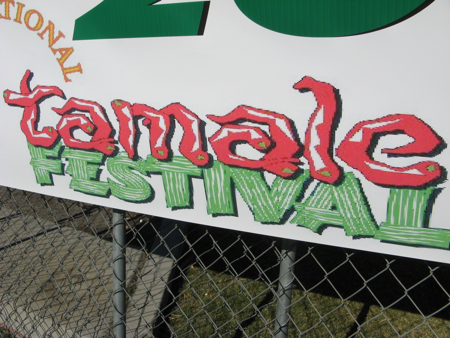 Tamale Festival sign